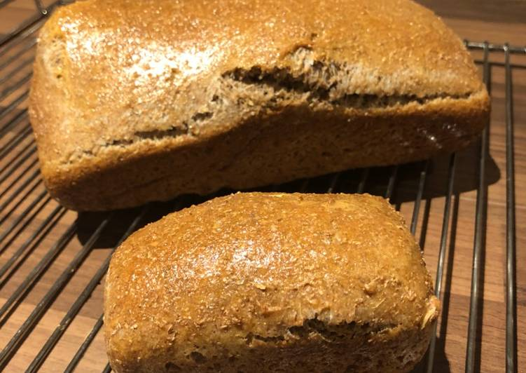 Recipe of Award-winning Welsh wholemeal bread