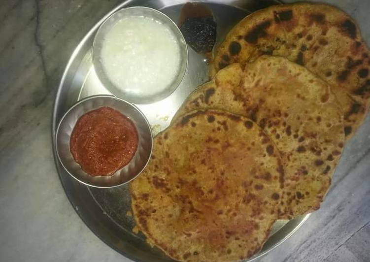 What are some Dinner Easy Cooking DHaba style stuff paratha