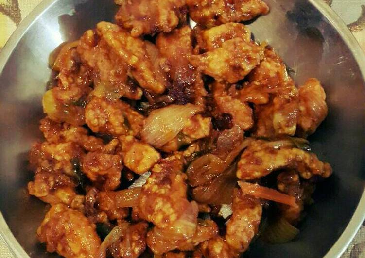 Ayam goreng crispy saos asam manis simple
