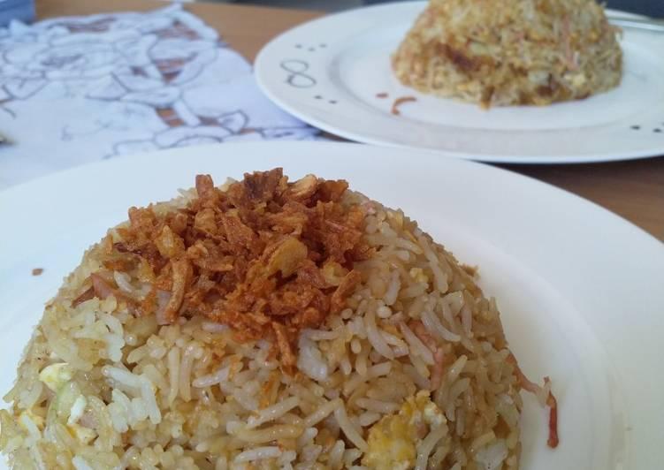 Resep Nasi goreng ham simple Top