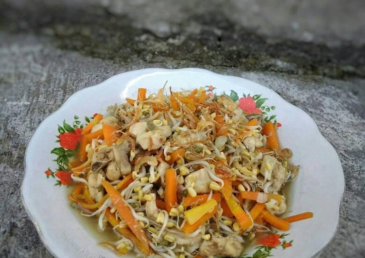 Cah Toge Ayam Wortel