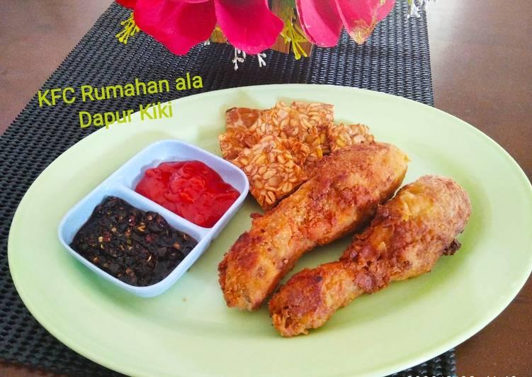 Kriting Fried Chicken (KFC) Rumahan