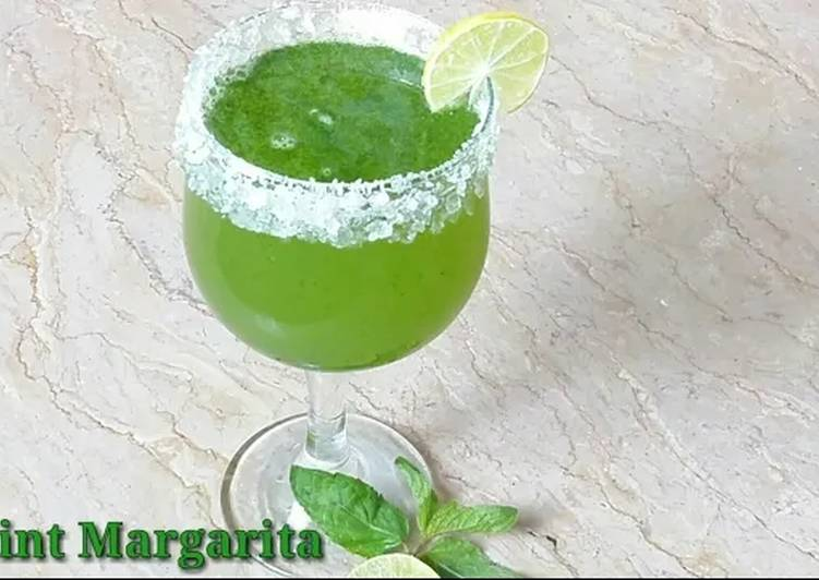 Easiest Way to Make Yummy Summer drink Mint Margarita