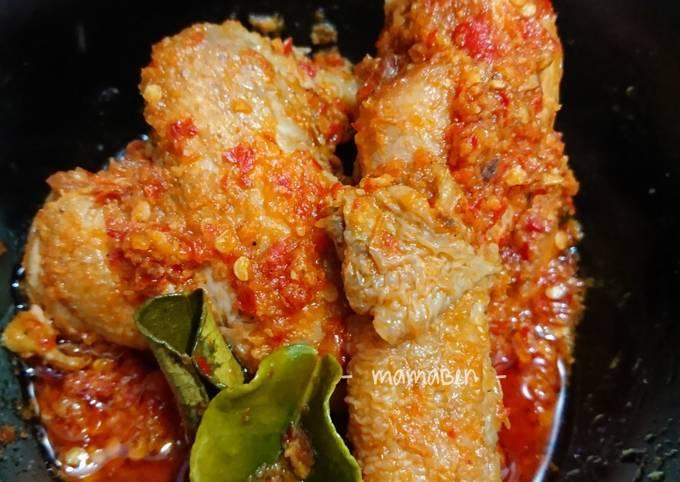 Ayam Balado Pedas