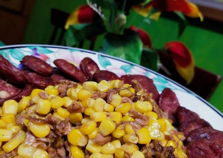 Buttered Corn & Tuna ala Pinoy
