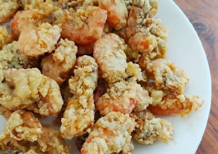 Udang goreng tepung gluten free