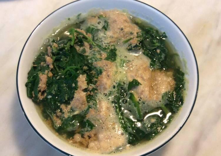 Cách Làm Món Đầu tôm nấu rau mồng tơi của Bích Hòa - Cookpad