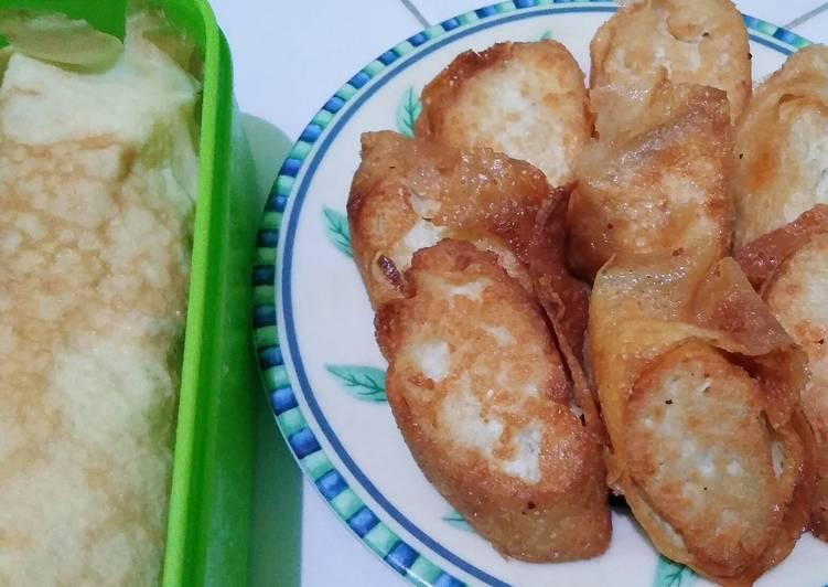 45. Tofu Eggroll