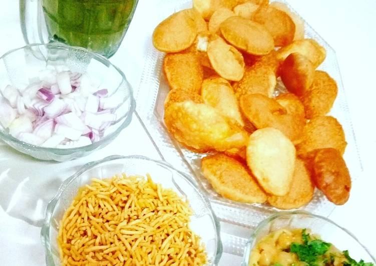 25 Minute Recipe of Ultimate Pani puri