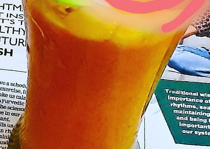 Mango milkshake 😋