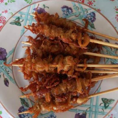 Resep Sate Jamur Tiram Bumbu Kecap Oleh Dapur Cimoetz Cookpad