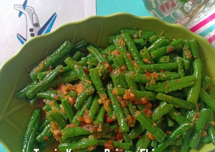 Cara Membuat Tumis Kacang panjang Ebi enak