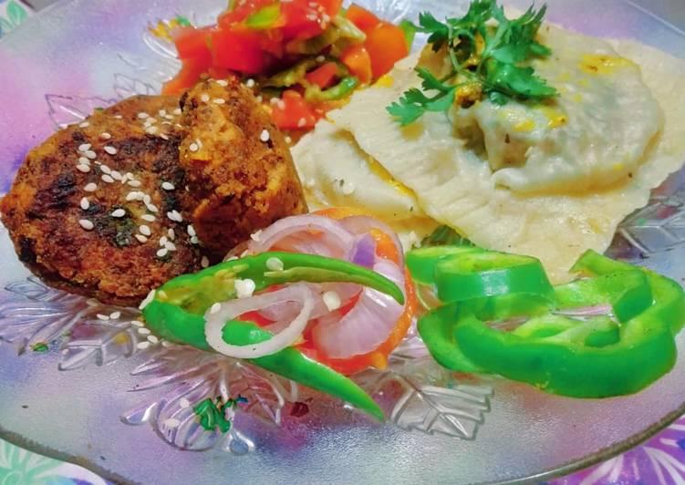 How to Prepare Appetizing Kebabs stuffed Ravioli
