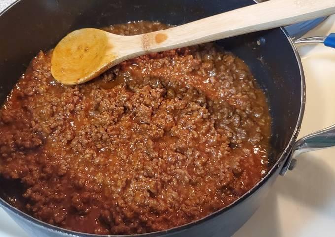 How to Make Appetizing Sloppy Joes