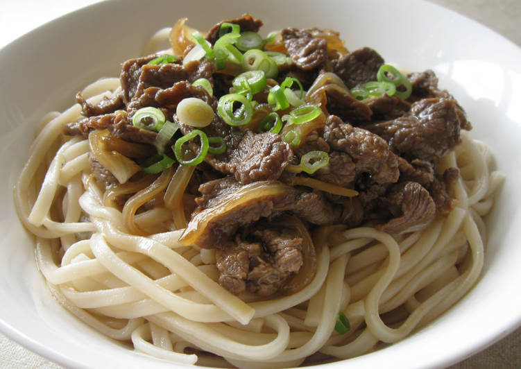 How to Prepare Beef Udon