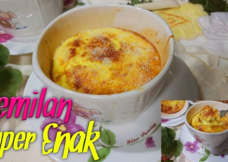 Olahan Telur+Susu+Gula Jadi Cemilan Super Enak