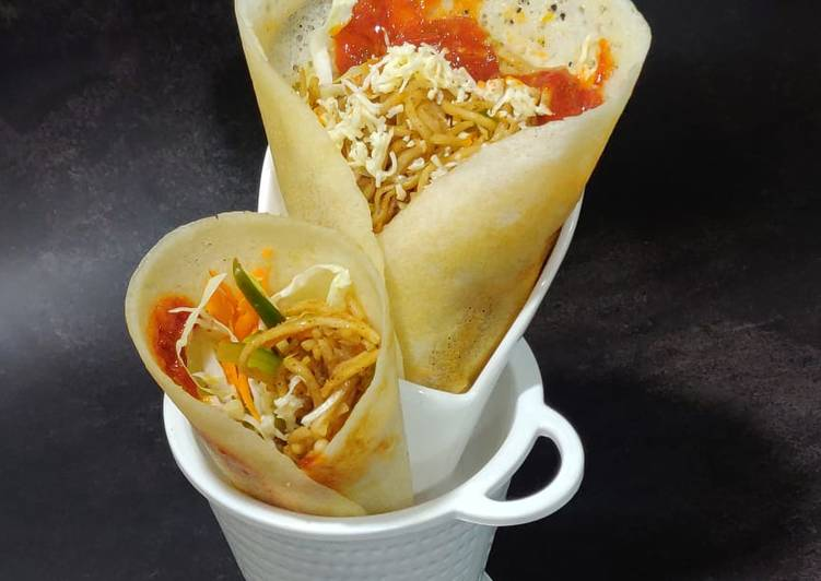 The Simple and Healthy Chinese dosa frankie