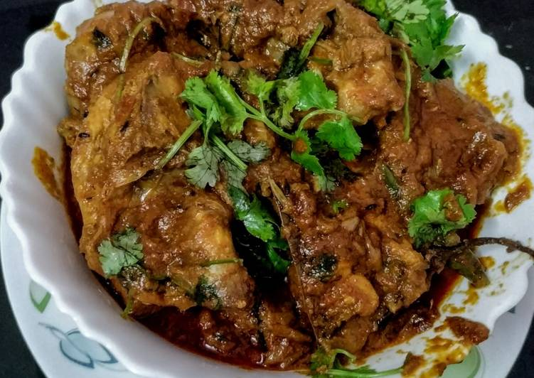 15 Minute Recipe of Blends Punjabi chicken curry