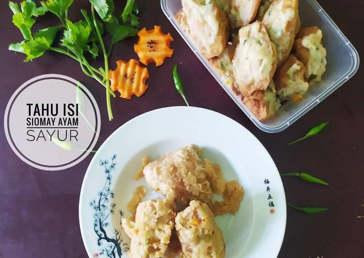 Tahu Isi Siomay Ayam Sayur #56