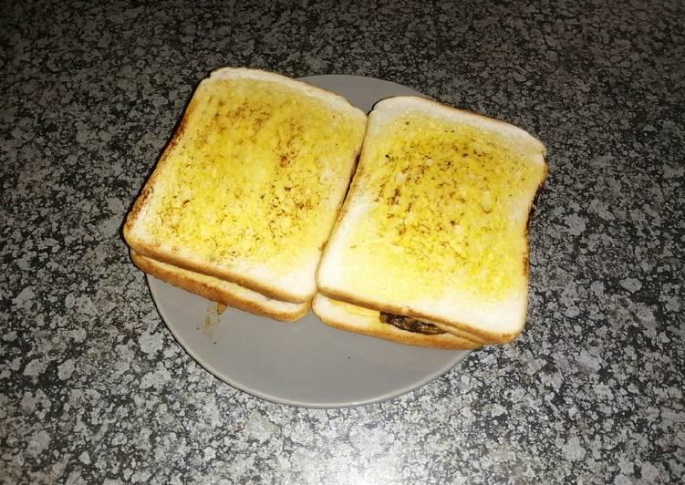 Spiced-up steak sandwich 🥪