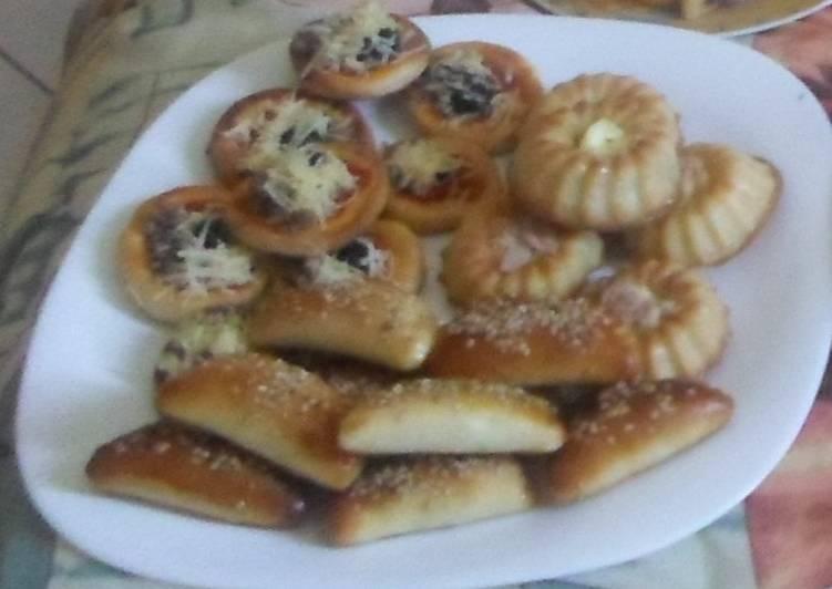 recette Les salés: chaussons, minis pizzas, et muffins au thon délicieux