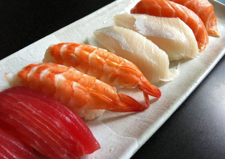 Recipe: Appetizing Nigiri-zushi