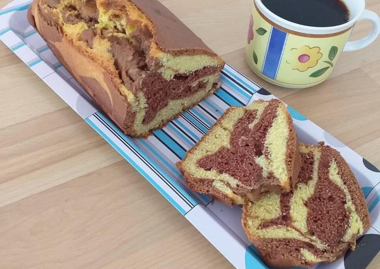 La Meilleur Recette De Gâteau marbré