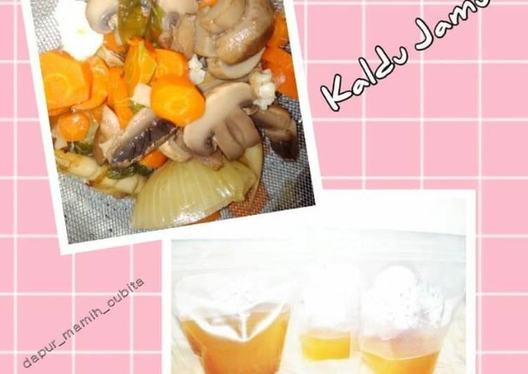 Cara membuat Kaldu Jamur Homemade (MPASI)