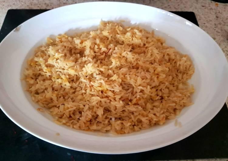 Coconut Saffron Rice 😊