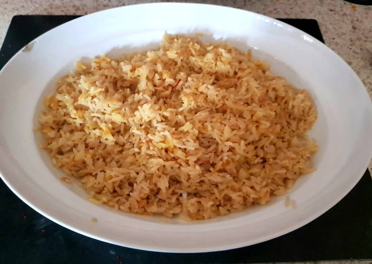 Coconut Saffron Rice 😊