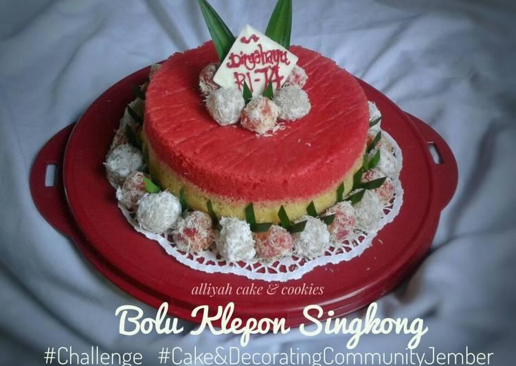 Resep Bolu Klepon Singkong