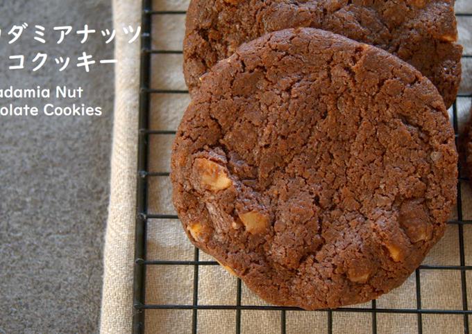 Macadamia Nut Chocolate Cookies