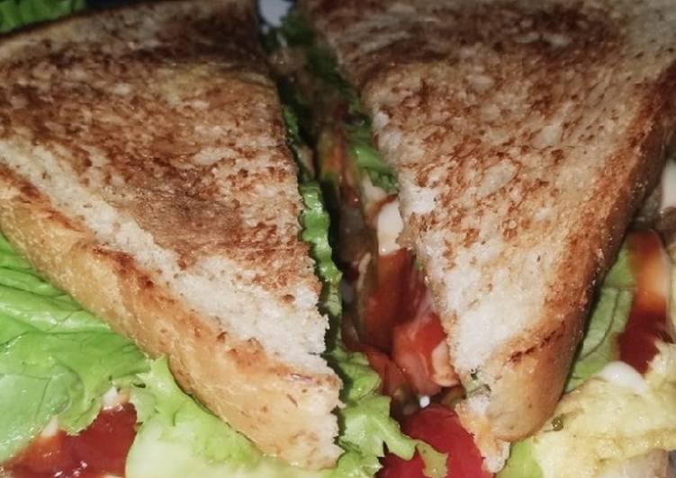 3. Sandwich simple ala rumahan