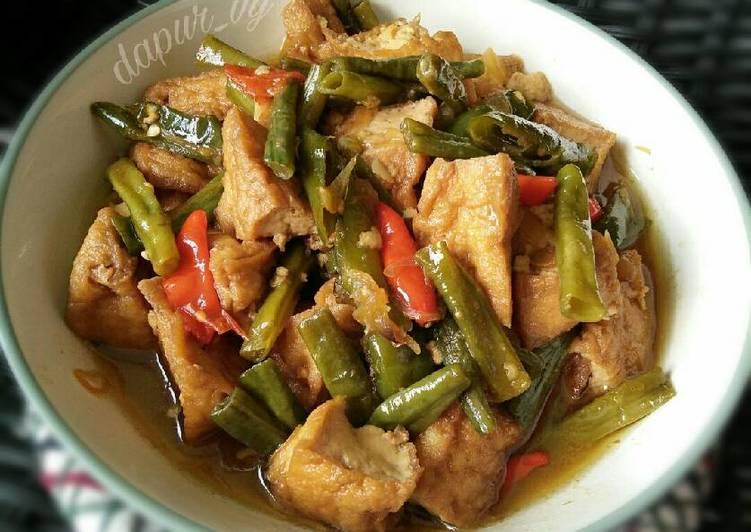 Langkah Resep Sayur Tahu Kacang Panjang Ndeso Pr Masakantahu Yummy