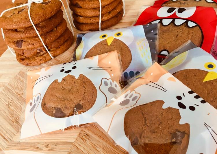 Resep Chocolate Soft Cookies yang Lezat
