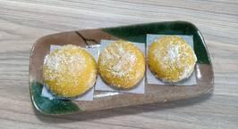 Hình ảnh món Bánh nếp khoai lang nhân Cheddar phủ dừa sấy
