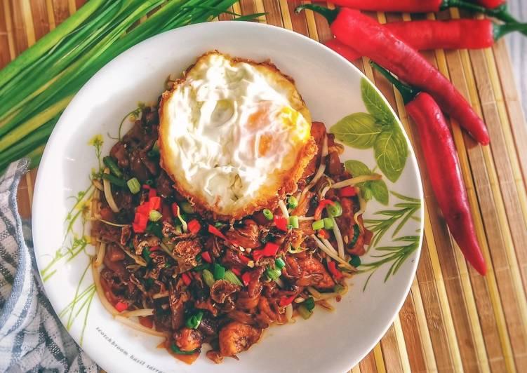 Cara Mudah Masak: Kuey Teow Goreng Ayam  Terbaru