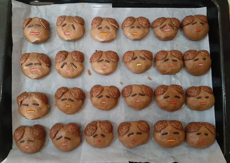 Cookies Milo eggless