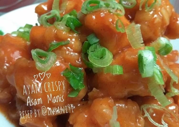 Ayam Crispy Asam Manis, memasak cepat 🍲🍗🐣