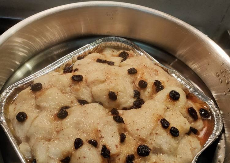 Puding Roti Kukus Fiber Cream