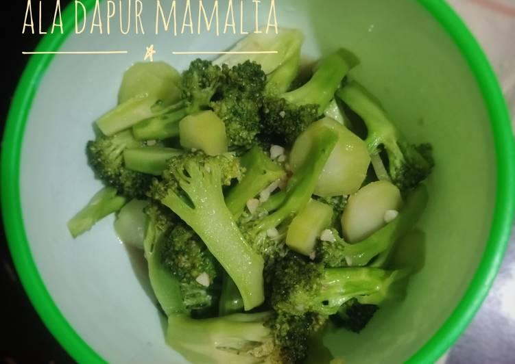 Cah Brokoli ala Dapur MamaLia