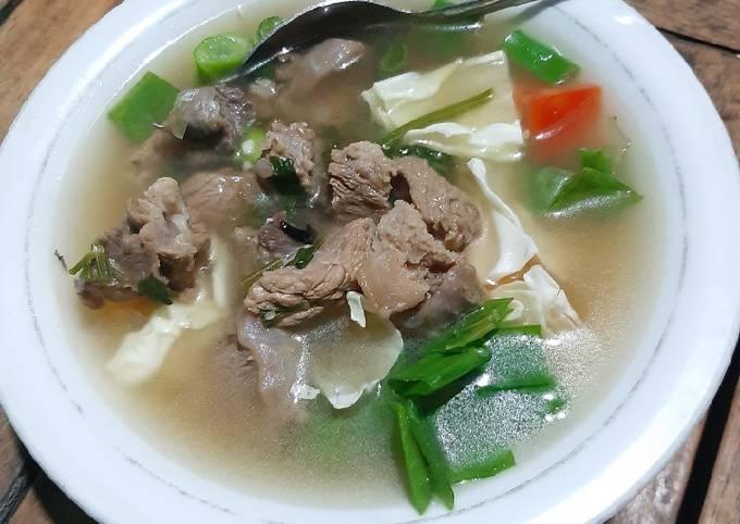 Sop Daging Sapi [simple recipe] - projectfootsteps.org