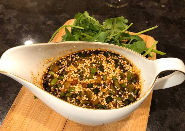Recipe: Perfect Sesame Soy Dipping Sauce