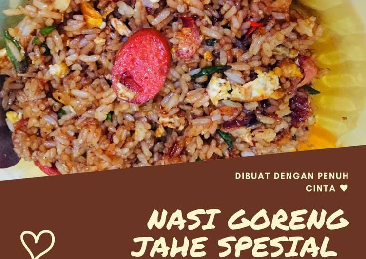 Nasi Goreng Jahe Spesial