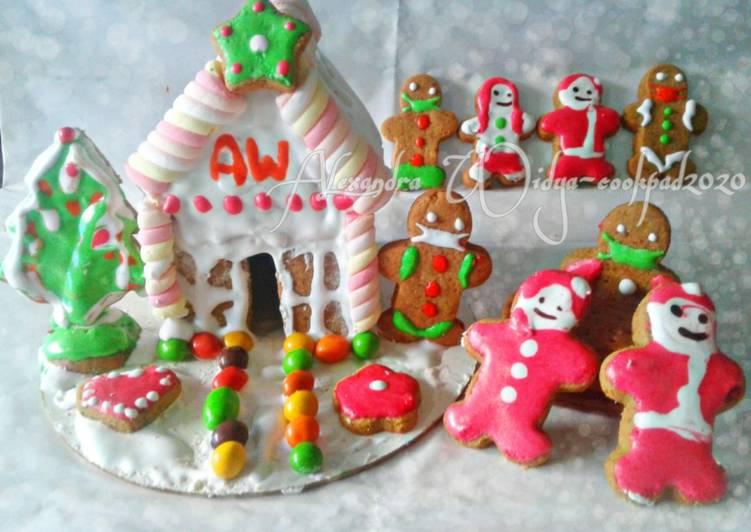 Gingerbread House & Gingerbread Man