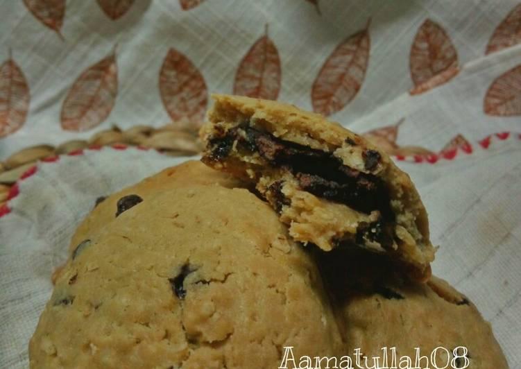 Choco oat soft cookies