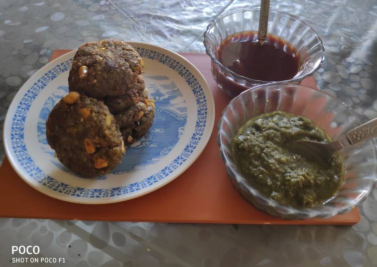 Palak corn cutlets / spinach corn cutlets - Laurie G Edwards