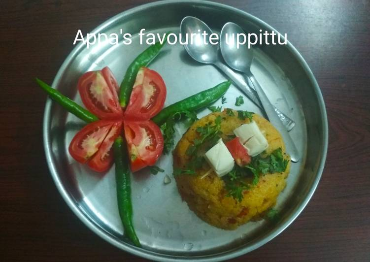 Tomato upma(Uppittu)