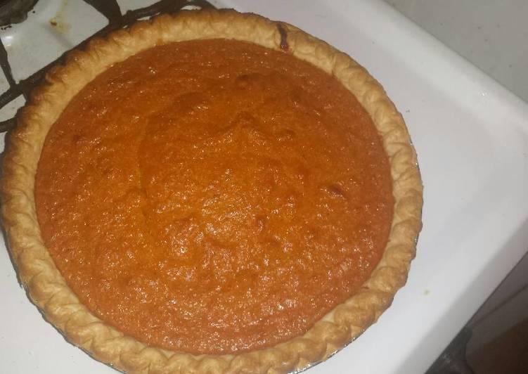 Chef Warren's Southern Sweet Potato Pie