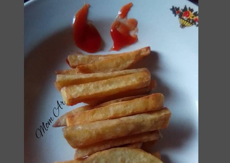 Kentang goreng KFC kw 🤭